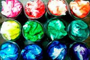 Tintura em Tecidos